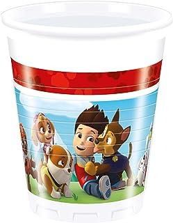 Folat - Disposable Paw Patrol Cups - 8 Pieces, Multi-Colour, 88542P