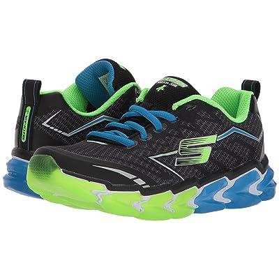 e220ffd947ac SKECHERS KIDS Skech Air 4 97725L (Little Kid/Big Kid) (Black/Blue/Lime) Boy's  Shoes