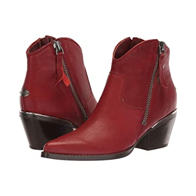GUESS Nalony (Red Leather) Women