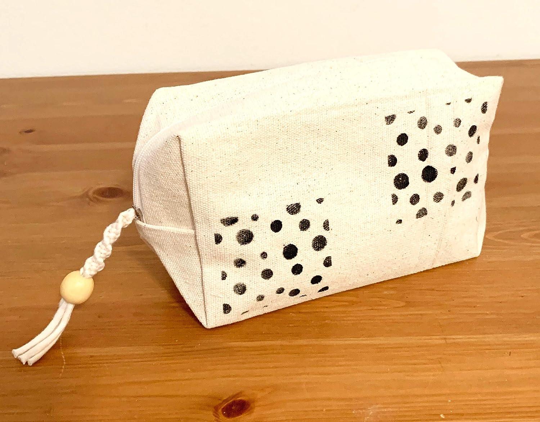 Canvas Cube Pouch Sale item - Bubbles Popularity