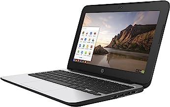 HP ChromeBook 11 G4 EE: 11.6-inch (1366x768) | Intel Celeron N2840 2.16GHz | 16GB eMMC SSD | 4GB RAM | Chrome OS - Black