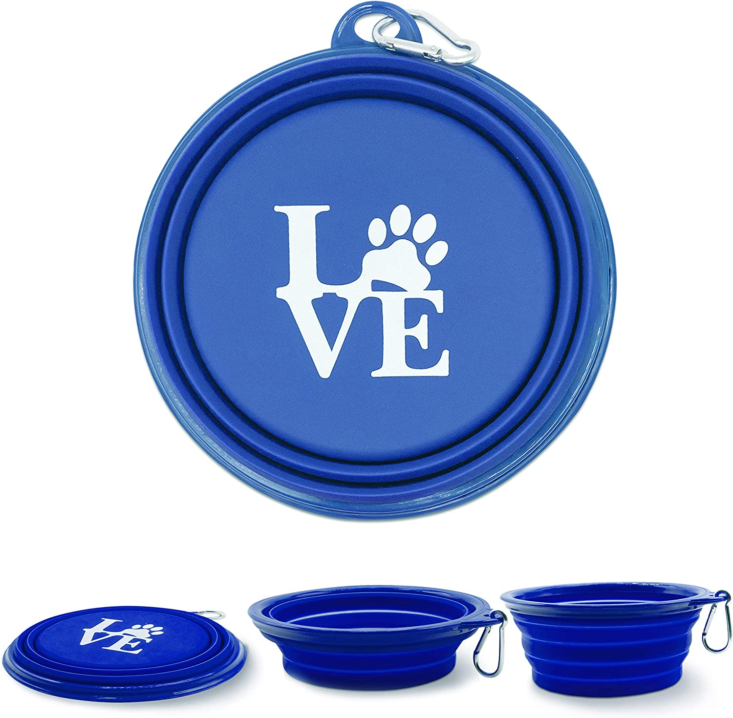 Collapsible Indefinitely Dog Bowls for Travel Oakland Mall and Dogs Water Bowl