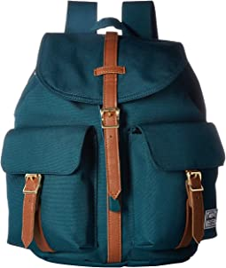 Deep Teal/Tan Synthetic Leather
