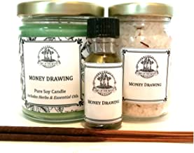 Art of the Root Money Drawing Spell Kit for Cash, Prosperity, Success, Financial Security & Abundance Wiccan Pagan Hoodoo Conjure