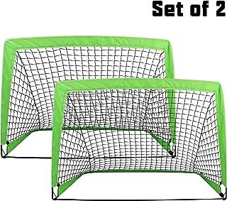 BEEYEO Soccer Goal Pop up Soccer Goal Backyard for Kids...