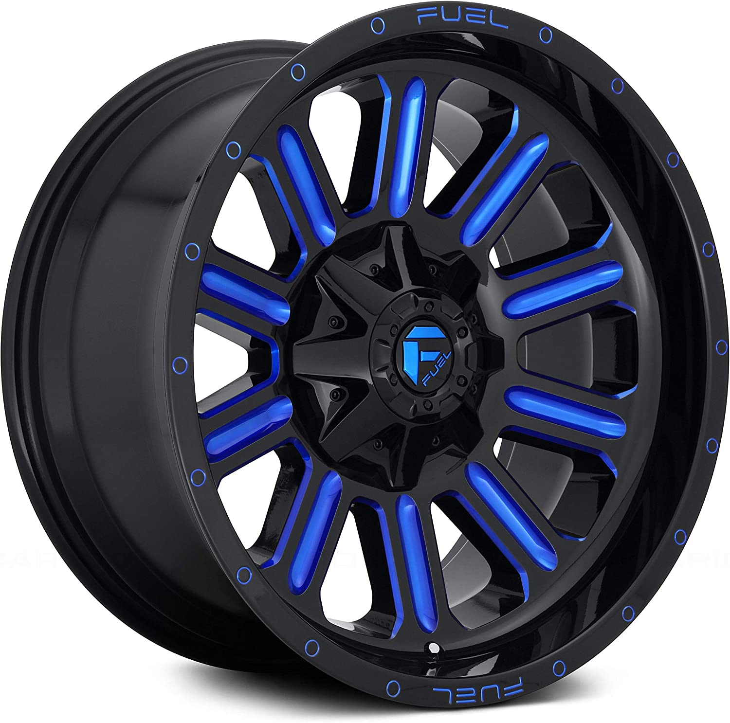 Fuel Offroad D646 HARDLINE BLACK Wheel Com and with TPMS Cheap bargain Painted Max 42% OFF