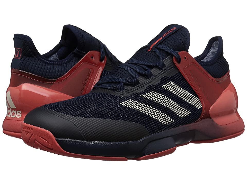 adidas Adizero Ubersonic 2 (Navy/Ecru Tint/Scarlet) Men