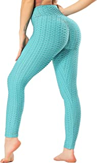 STARBILD Leggings de Fitness Mallas Pántalones Largos Deportivos Cintura Alta Elástico Control de Barriga para Mujer Yoga ...