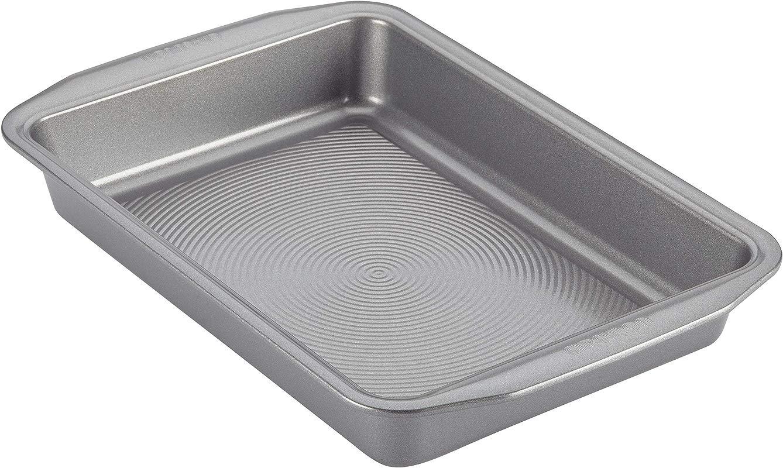 Circulon Nonstick Bakeware 9 Inch X 13 Inch Rectangular Cake Pan Gray