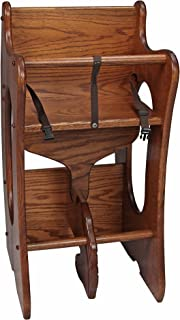 amish furniture 3 in 1 highchair