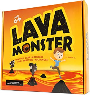 JumpOff Jo Lava Monster, Hot Lava Survival Game for Kids and Adults, Physical & Educational