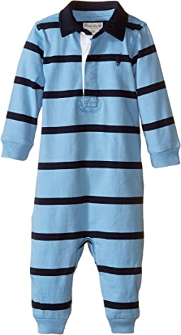YD Rugby Jersey Stripe Coveralls (Infant)