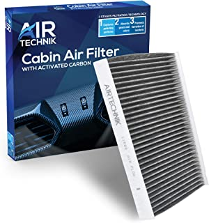AirTechnik CF11664 Cabin Air Filter w/Activated Carbon | Fits Hyundai Santa Fe 2009-2011 / Kia Sorento 2011-2015