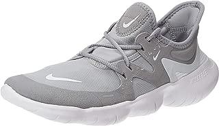 nike free 5.0 gray and white