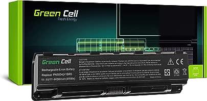 GC  Laptop Akku f r Toshiba Satellite L850-1JQ L850-1JR L850-1JT L850-1JW L850-1JX  4400mAh 11 1V Schwarz