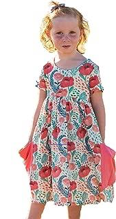 Áo quần dành cho bé gái – Girl's Premium Cotton Twirl Pocket Dress