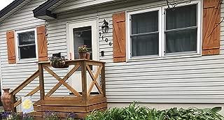 Best rustic window shutters Reviews