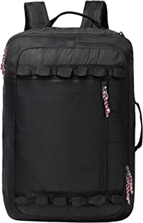 TRAILKICKER Large Carry on Backpack, 48L Flight Approved Convertible Travel Backpack, X-Over Backpack for Men & Woman