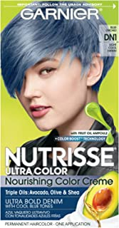 Garnier Nutrisse Ultra Color Nourishing Hair Color Creme, DN1 Light Cool Denim (Packaging May Vary), 1 Count