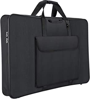 1st Place Products Premium Art Portfolio Case - 32 x 42 Inches Soft Sided - Water Resistant - Carry All - Great for LCD Screens, Monitors & TVs - Shoulder Straps & Carry Handle