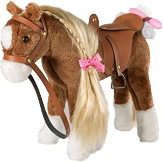 leather horse toy