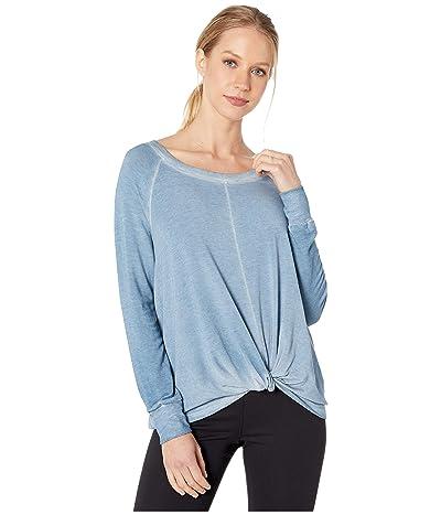SUNDoWN by River+Sky Twist Sweatshirt (Dawn Blue) Women