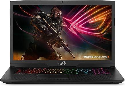 """ASUS ROG Strix Scar Edition Gaming Laptop, 17.3"""" 144Hz 3ms Full HD, Intel Core i7-8750H Processor, GeForce GTX 1070 8GB, 16GB DDR4, 256GB PCIe SSD + 1TB FireCuda, Windows 10 - GL703GS-DS74"""