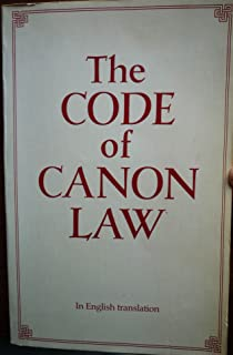 The Code of Canon Law: In English Translation