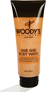 Woody's Quality Grooming for Men Hair and Body Wash 10 Ounces