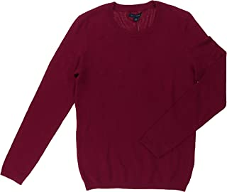 TOMMY HILFIGER Women's Long Sleeve Crew Neck Pull Over Sweater