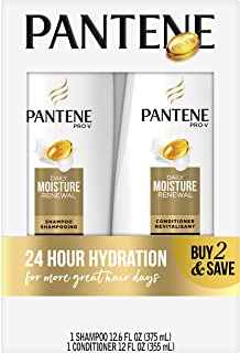Pantene Daily Moisture Renewal Duo set, 12.6 Oz Shampoo and 12 Oz Conditioner (1 Each))