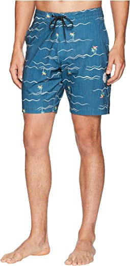 Palmere Four-Way Stretch Boardshorts 18.5""