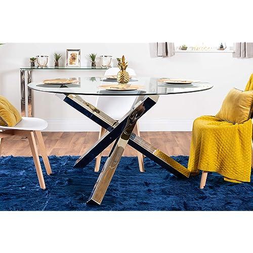 6 Seater Round Dining Table: 6 Seater Round Dining Table: Amazon.co.uk