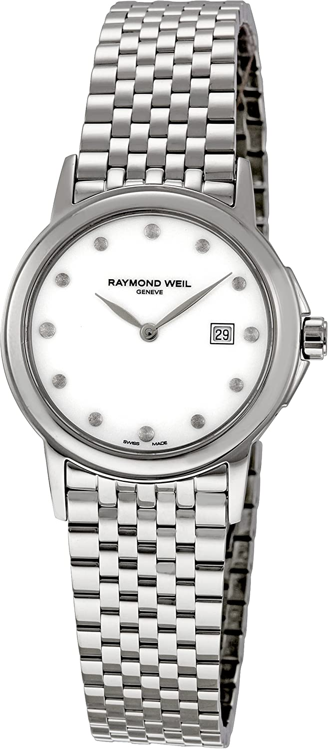 Raymond Weil Women's 5966-ST-97001 Dia Tradition Mother-of-Pearl Columbus Mall Deluxe