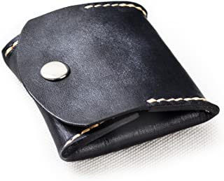 ANCICRAFT Soft Genuine Leather Coin Purse Change Pouch Wallet By Handmade Vintage Gift