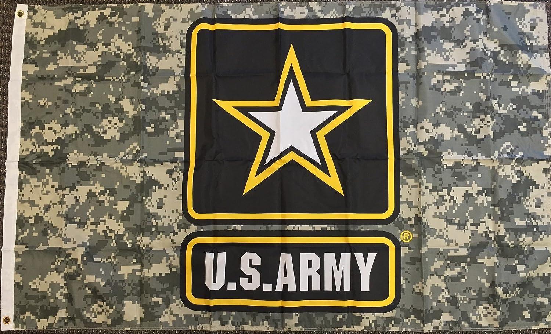 3x5 Camo Albuquerque Mall United States Army Star Military Camouflage 25% OFF USA Ba Flag
