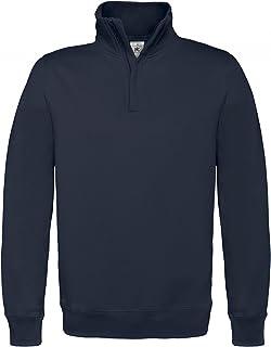 B&C Mens ID.004 1/4 Zip Sweatshirt