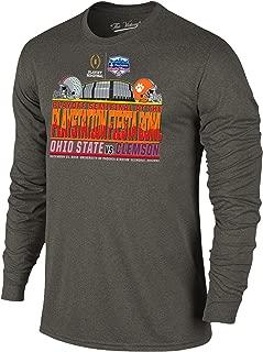 2016 Fiesta Bowl Clemson Ohio State College Football Playoff Stadium LS T-Shirt