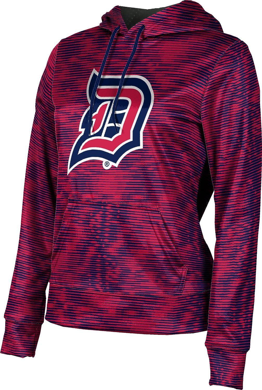 ProSphere Duquesne University Girls' Pullover Hoodie, School Spirit Sweatshirt (Velocity)