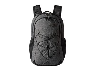 The North Face Jester Backpack (TNF Black Heather/Silver Reflective) Backpack Bags