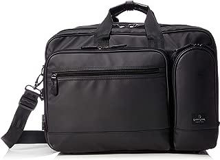 [マジェスティック ミル] ビジネスバッグ 3WAY(手提げ・リュック・ショルダー/キャリー通し付き) ブリーフケース 防水カサ袋付属 MMB0009