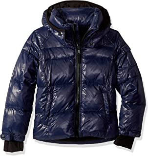 Boys' Downhill Gloss Down Puffer with Detachable Hood