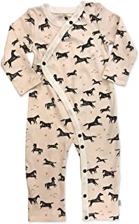7ac2d1d47bf2 Amazon.com  9-12 mo. - Footies   Footies   Rompers  Clothing