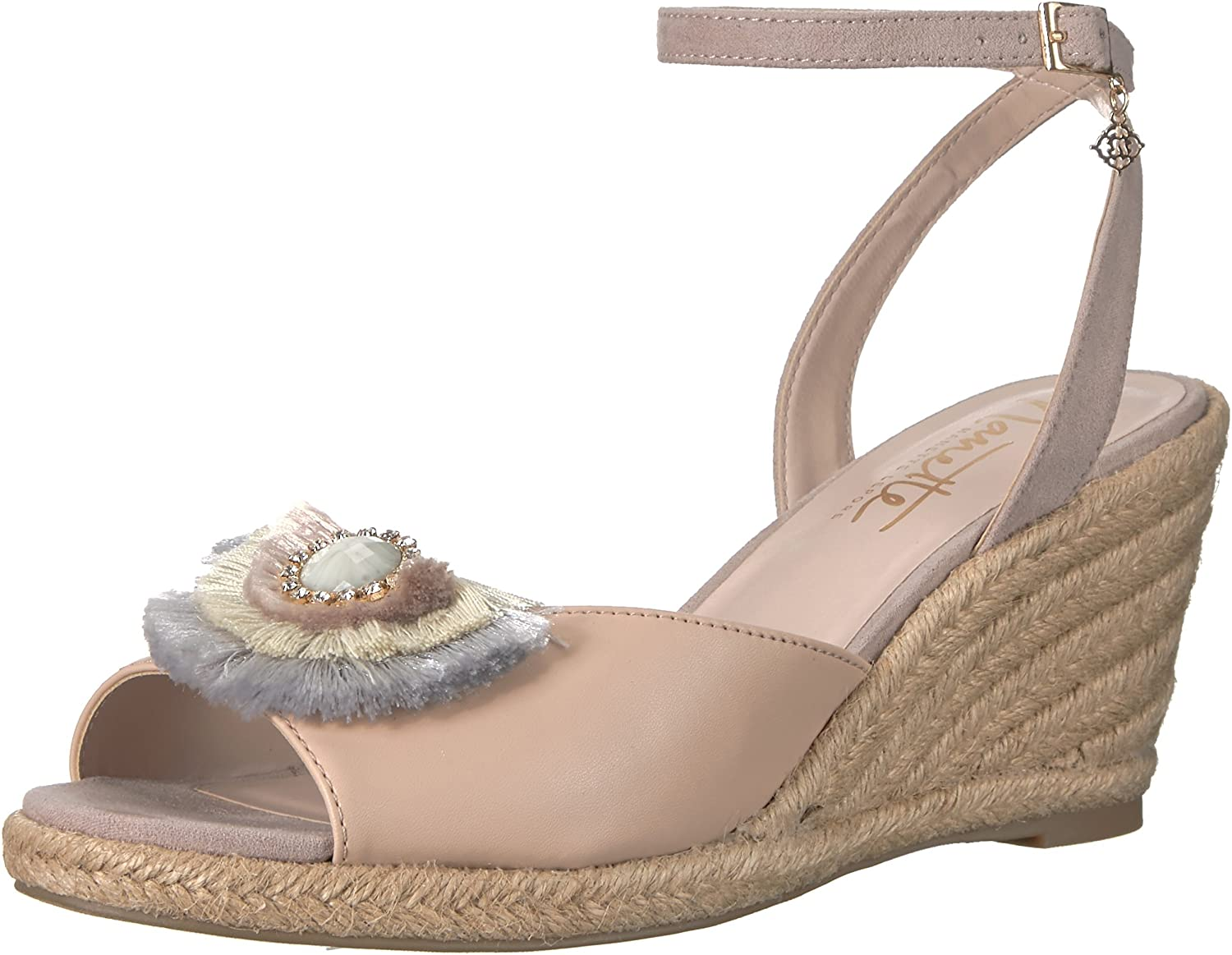 Nanette Lepore Womens Queen Wedge Sandal