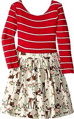 Reindeer Abbie Dress (Toddler/Little Kids/Big Kids)