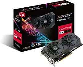 ASUS ROG Strix Radeon RX 570 O4G Gaming OC Edition GDDR5 DP HDMI DVI VR Ready AMD Graphics Card (ROG-STRIX-RX570-O4G-GAMING)