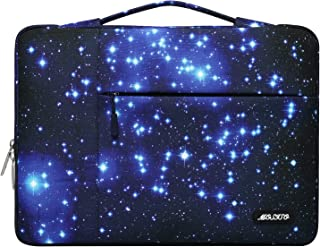 MOSISO Laptop Sleeve Compatible with MacBook Pro/Air 13 inch, 13-13.3 inch Notebook Computer, Polyester Starry Night Multi...