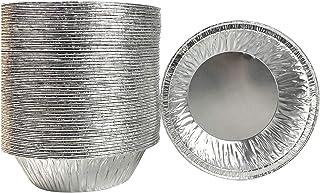 Waytiffer 50 Pack - Pie Pans 5 inch ,Mini Pie Tins HEAVY-DUTY Disposable Aluminum Foil Tart/ pie Pans for Baking Personal ...