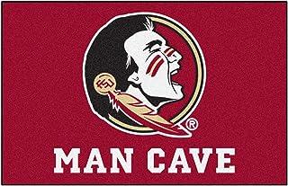 سجادة Fanmats 14544 بشعار جامعة ولاية فلوريدا نايلون كهف رجل عالمي