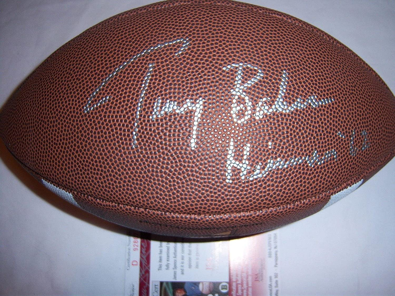 Terry Baker Oregon State heism Jsa Signed - Miami Mall Football coa Max 76% OFF Autogra